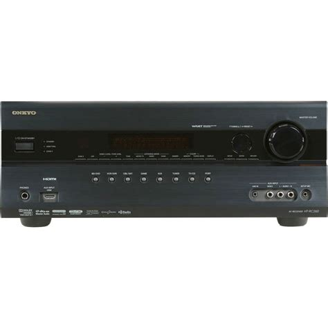 onkyo ht rc260 7 2 channel home theater receiver ht rc260 b h