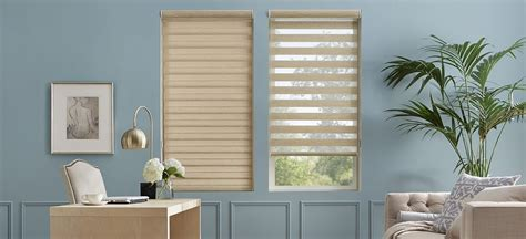 blinds that allow light in dual roller shades allow for both light and privacy do