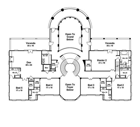 6 bedroom floor plans for house awesome house plans 9 2 story house 6 bedroom