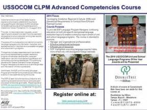 ussocom clpm advanced competency course ppt