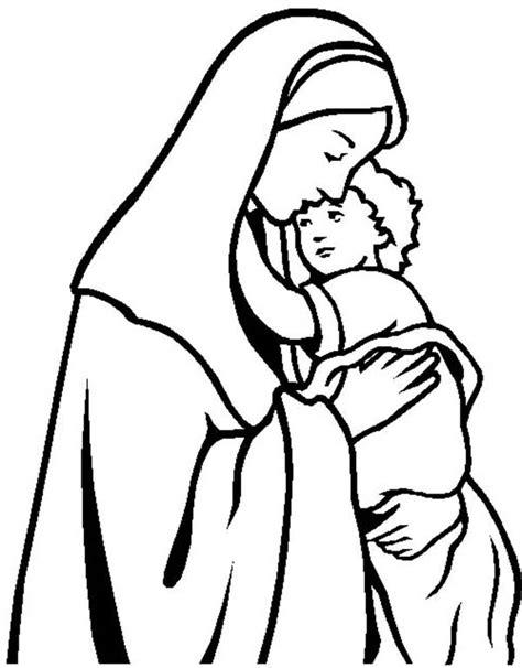 preschool coloring pages of baby jesus jesus coloring clipart best