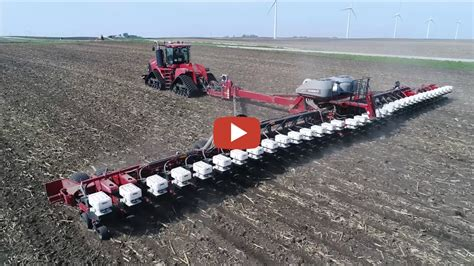 36 Row Planter by Central Iowa Planting 2017 Caseih Quadtrac 600 And 1265
