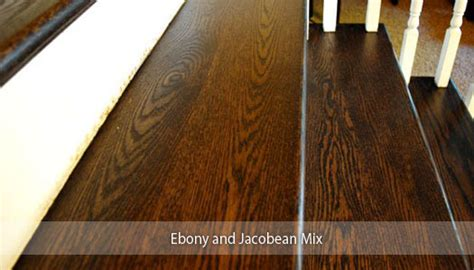 Thinking of Staining Your Hardwood Floors a Dark Color?