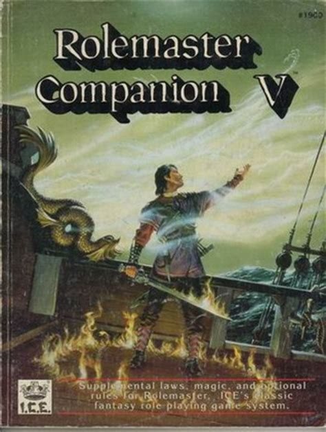 Rolemaster Companion 3 rolemaster companion v rolemaster 2nd edition 1900 by
