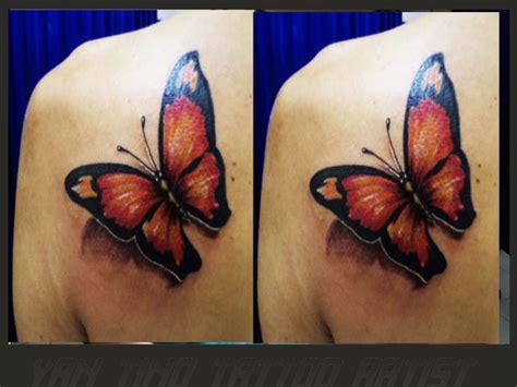 tattoo kupu kupu color tattoo yantino tattoo