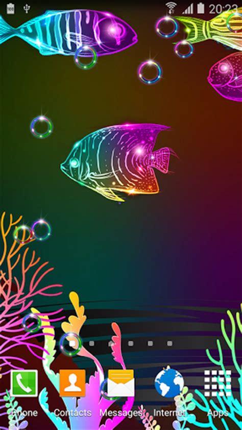 fish live wallpaper apk neon fish live wallpaper apk for android