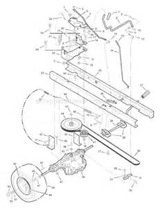Here s a diagram of the drive belt and the deck belt to give you a