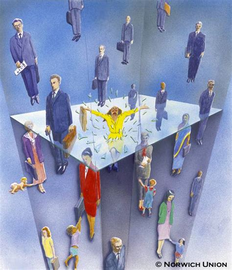 Glass Ceiling Term by Shattering The Glass Ceiling Businesswomen