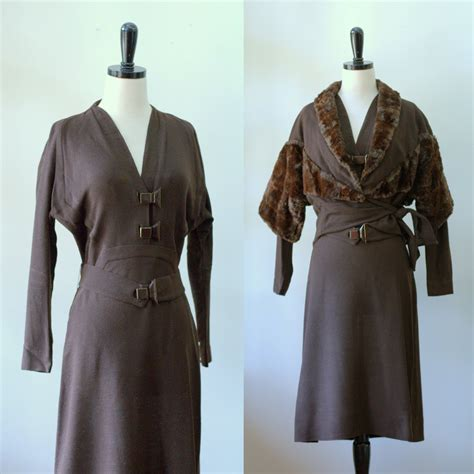 vintage 1940s dress and jacket 1940s semi formal dress and