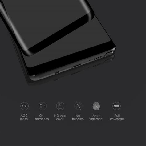 Nillkin Cp Plus Max 3d Glass Samsung Galaxy S8 nillkin amazing 3d cp max tempered glass screen protector
