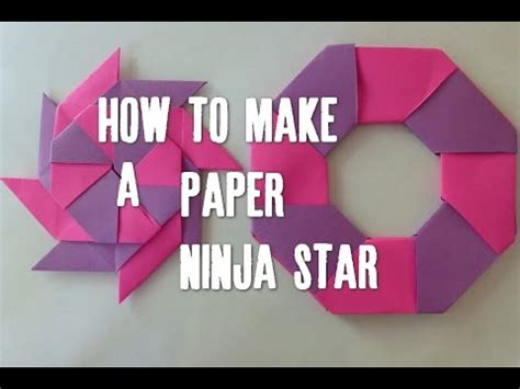How To Make A Paper Throwing - diy paper in hd