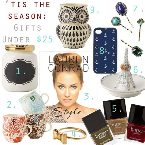 gifts under 25 refined couture holiday gift guide gifts under 25