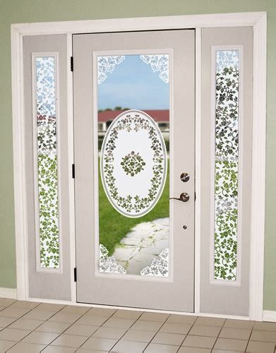 decorative glass door sidelights decorating entryway doors with sidelights decorative