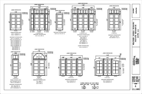 Patio Area by Window And Door Cad Drawings H B S Inc