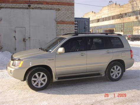 Toyota Highlander 2002 2002 Toyota Highlander Wallpapers