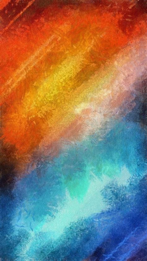 wallpaper blue and orange orange flash iphone 5 wallpaper 640x1136
