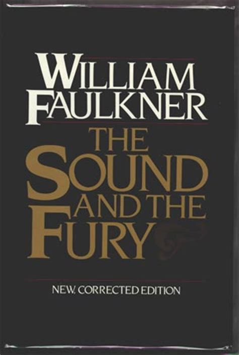 william faulkner major novels the sound and fury