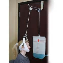 home cervical traction device the door cervical traction unit overhead neck traction