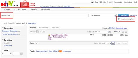 Ebay Search How To Save Ebay Searches And The Results Emailed To You