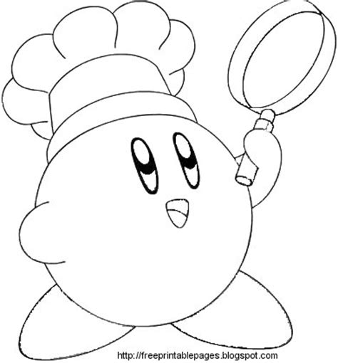Nintendo Kirby Coloring Pages To Print | coloring cabin kirby coloring pages of nintendo kirby