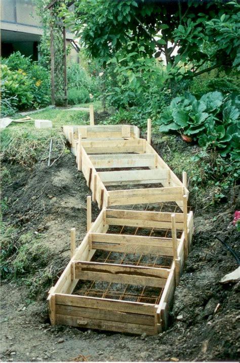 Treppe Bauen Garten by Gartentreppe Selber Bauen 40 Beispiele