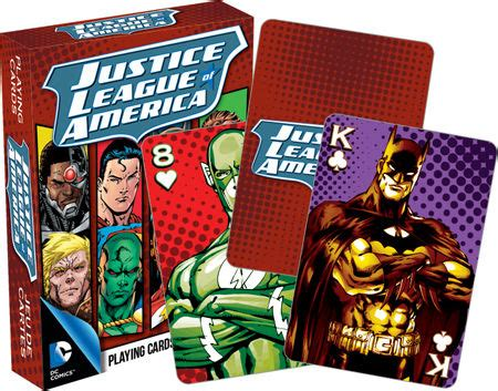 Justice Gift Card Where To Buy - dc justice league of america playing cards buy gag gifts