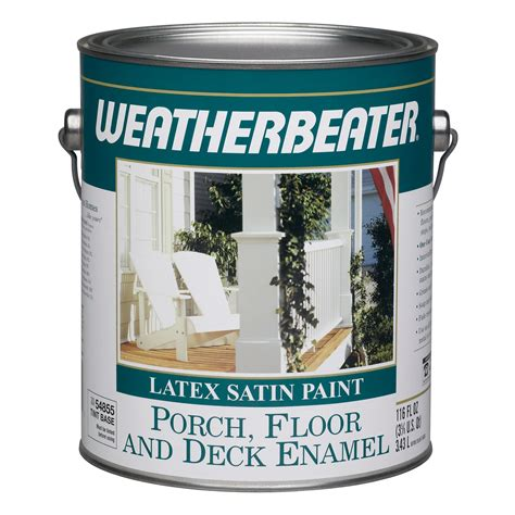 weatherbeater   latex satin porch floor