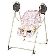 pink and brown graco swing silla de comer fly away minnie fast pack de safety 1st