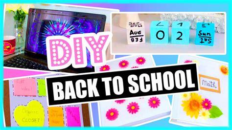 Calendar Outside Organization Diy Back To School Diy Organization Binder Decorations