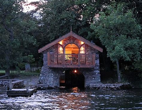 lake district boat house boat house lake district boat house pinterest