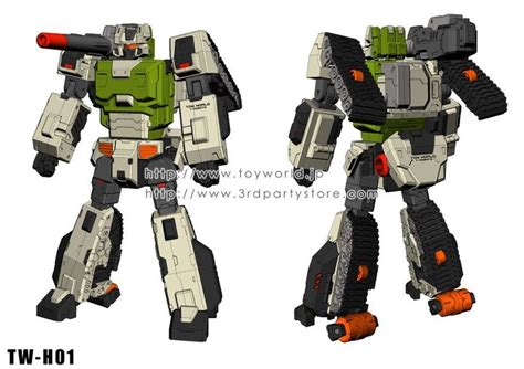 Weijiang Transformers G1 Headmasters Hardhead Figure New In toyworld tw h01 hardhead announced transformers news