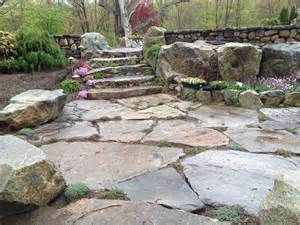 Stone Patio Slabs by New England Natural Slabs