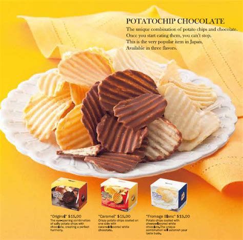 Royce Potatochip Caramel Original Japan royce chocolate for your delicious exquisite