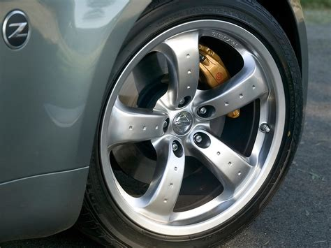 nissan wheel what are the spec of these wheels oem 350z inside
