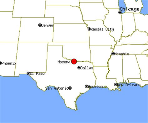 nocona texas map nocona profile nocona tx population crime map