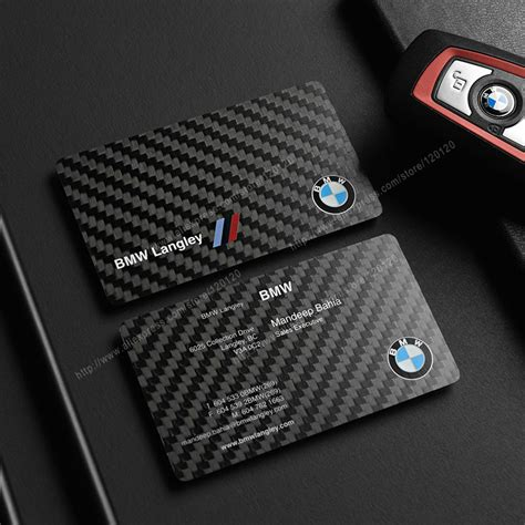 bmw business cards templates aliexpress buy carbon fiber business cards custom