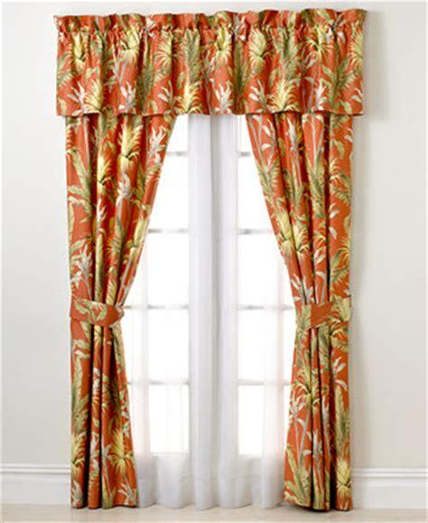 tommy bahama catalina shower curtain tommy bahama home catalina window valance bedding