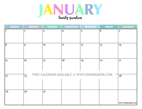 Kalender Dinding 1 2 Sisi Color 2 your free 2017 printable calendar and colorful free printable printable calendars and
