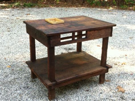 primitive country kitchen island work table
