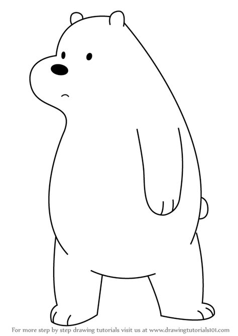 We Bare Bears Coloring Pages