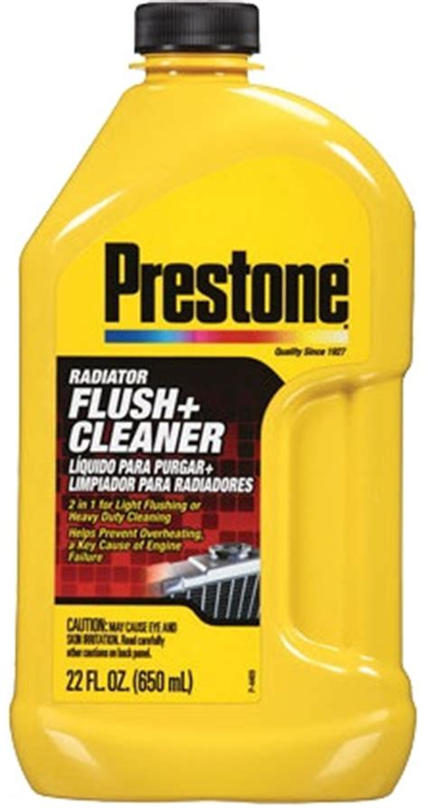 Prestone Radiator Flush Cleaner 2in1 Light Flushing And Heavy Duty prestone products