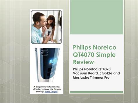 best shaver for stubble philips norelco qt4070 review best shaver for men