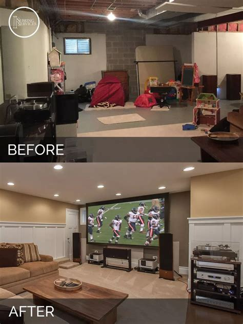 before after a makeover design 25 best ideas about basement designs on
