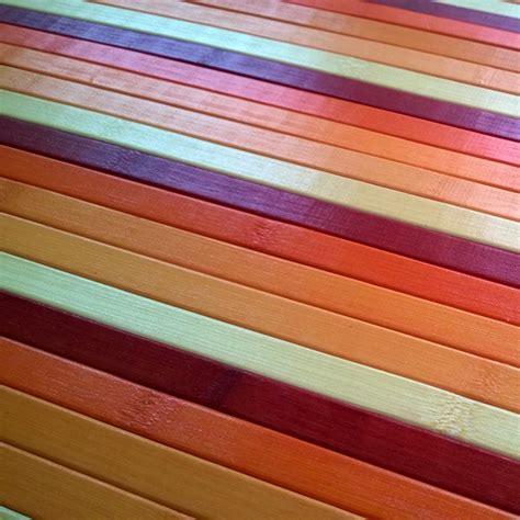 passatoie tappeti bamboo cucina tappeto passatoia deluxe degrade arancio