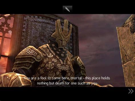 thane infinity blade infinity blade ii screenshots for mobygames