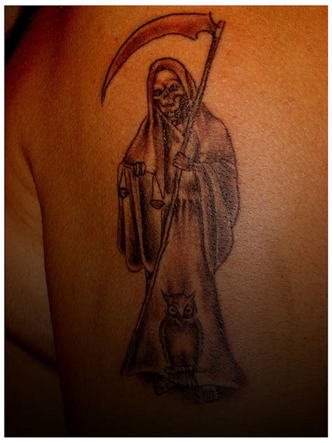 santa muerte tattoo meaning de la santa muerte tattoos pictures to pin on
