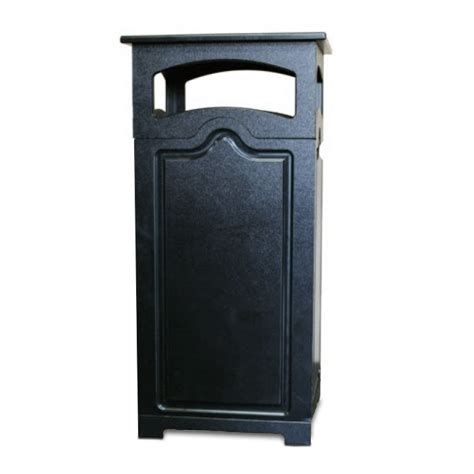 Decorative Trash Cans by 33 Gallon Decorative Trash Can With Cap Trash