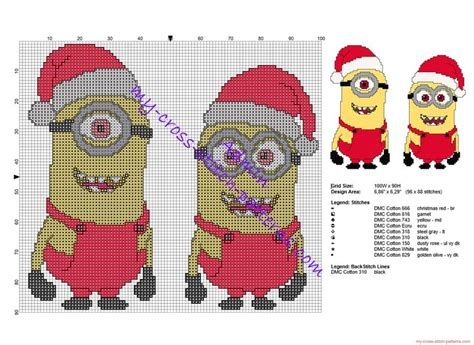 crochet pattern for minion christmas stocking 1660 best images about cross stitch ornaments on