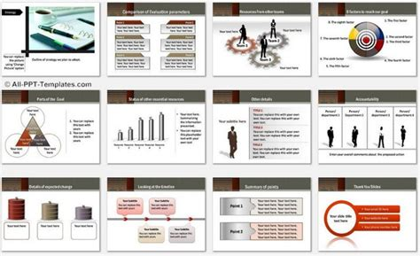 powerpoint report template gavea info