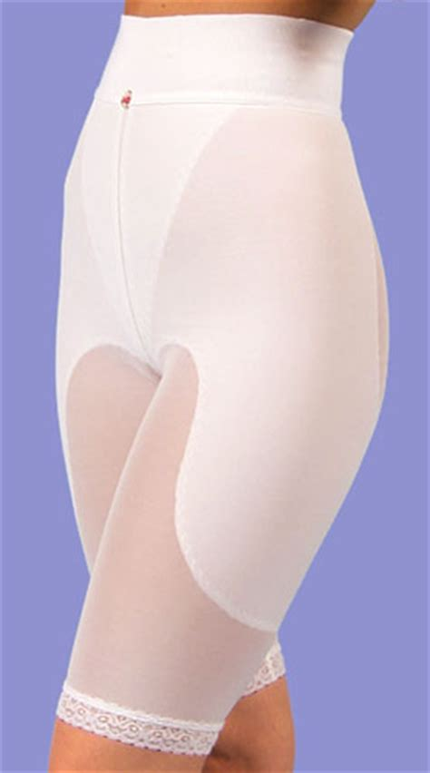 girdle stocking design veronique non zippered above knee girdle therapy
